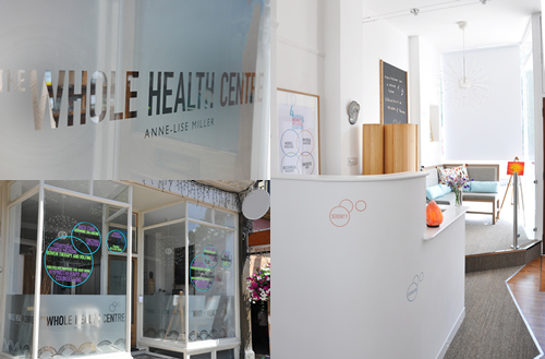The whole health centre in London
